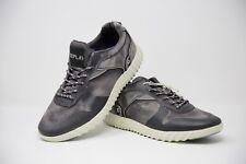 Replay Grey Denim Trainers Size UK 10 EUR 44