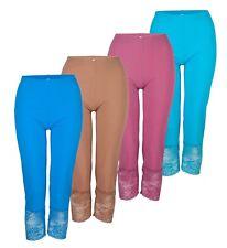 Plus Size Lace Cropped Lounge Pant | Size 14 16 18 20 22 24 26 28 | 1X-4X