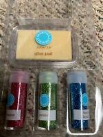 Martha Stewart  Easter Glitter Glue Set Unused #39