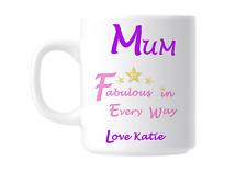 Mum Number 1 Mum Novelty Gift Mug