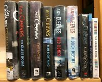 ANN CLEEVES: job lot collection of 9 adult fiction books