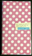 Polka Dot Schedule Diary Agenda - Kawaii Korean Stationery - planner organizer