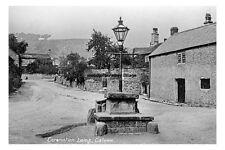 pt0729 - Coronation Lamp , Calver , Derbyshire - photo 6x4