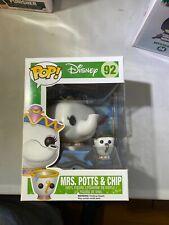 Funko POP! Disney Figure - MRS POTTS & CHIP (Beauty & The Beast) #92 Belle Beast