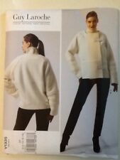 Vogue Pattern V1335 Size 6-8-10-12-14 Guy Laroche Jacket And Pants Uncut