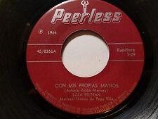 LOLA BELTRAN de PEPE VILLA - Con Mis Propias Monos 1964 RANCHERA Mariachi Folk