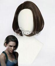 Resident Evil 3 Remake Jill Valentine Brown Cosplay Wig