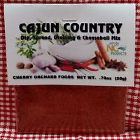Cajun Country Dip Mix, makes dips, spreads, cheese balls &salad dressings