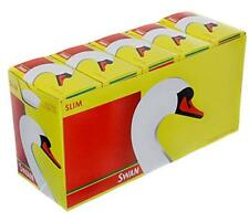 10 Boxes 165 Swan Slim Line Filter Tips Slimline Total 1650 UK Stock