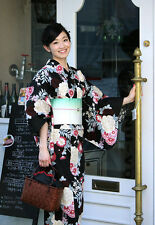 Women's Cotton Yukata Japanese Summer Casual Kimono Dress Floral Own Brand
