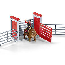 SCHLEICH®  Farm World 41419  Bull riding mit Cowboy, NEU & OVP