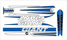 GIANT ANTHEM BIKE FRAME DECAL SET BLUE/WHITE