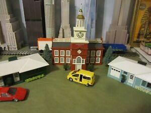 PLASTICVILLE BUILDINGS O SCALE     B