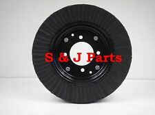 "15"" LAMINATED TAIL WHEEL TIRE 4""X 15"" 4 BOLT PATTERN  (4X8)"