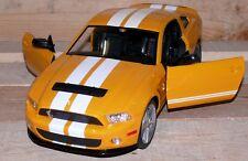 FORD GT500 1:14 RC FB 27 MHz Kids Kinder Renn auto Fahrzeug Nr.2170 Gelb Weis