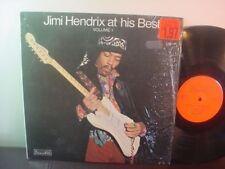 JIMI HENDRIX LP ROCK PSYCH NM on SAGAPON UK IMPORT ~ Jimi Hendrix At His Best V1