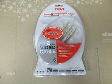 NEW 6' RCA HIGH PERFORMANCE HDTV COMPONENT VIDEO CABLE - FAST SHIPPING
