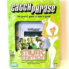 Electronic Catch Phrase Music Edition Handheld Game