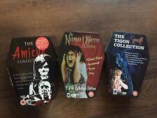 THE TIGON Norman Warren Amicus Collection Rare Horror Coffin Anchor Bay Set DVD