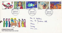 18 NOVEMBER 1981 CHRISTMAS POST OFFICE FIRST DAY COVER HASTINGS FDI