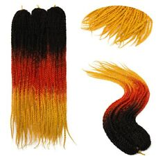 "US Dreadlock Hair Extensions DOUBLE ENDED 24"" long Ombre Braiding Hair dreads"