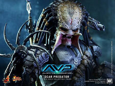 HOT TOYS 1/6 AVP ALIEN VS PREDATOR MMS190 SCAR PREDATOR ACTION FIGURE