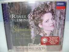 Renee Fleming SIGNATURES - GREAT OPERA SCENES, London SO/Georg Solti London NEW
