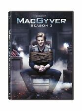 Macgyver: Season 3 Lucas Till George Eads Dvd discs: 5 Brand New