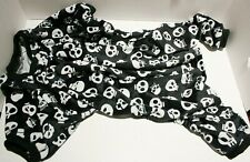 CuteBone Halloween Skulls Dog Jumpsuit Pajamas Bodysuit - Small Breed XL