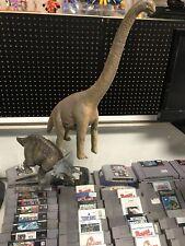 Schleich BRACHIOSAURUS & Triceratops DINOSAUR FIGURE Toy 1993 Retired Germany