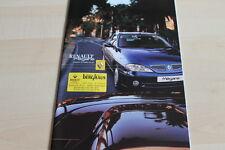 120423) Renault Megane Coupe + Cabrio Prospekt 11/2000