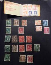 Canada Used Lot #9, A few Mint
