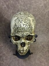 Gryffindor Theme Real Human Skull Replica carved my Zane Wylie Harry Potter