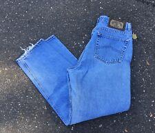 Vintage Armani Light Wash Denim Jeans Size W34 L32 Made In Usa