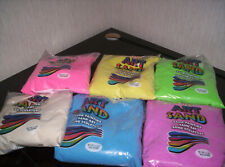 Sand Art Set *6 Bags of Colored Sand + 4 Plastic Bottles*