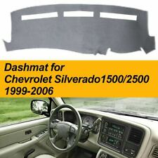 Grey Dash Dashmat Dashboard Cover for CHEVROLET SILVERADO 1999-2006 Non-Slip