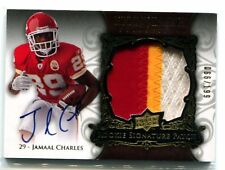 2008 Exquisite Collection Jamaal Charles Rookie Patch Auto 66/199 Chiefs