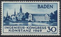 Französische Zone Baden, MiNr. 46 I, postfrisch / MNH - 603660