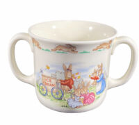 "ROYAL DOULTON~ ""Bunnykins"" Mug Ice Cream 1936 English Mug Signed"