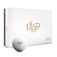 VICE PRO – Golfbälle (weiß) - 12 Stück Neu! Golfzubehör Golfball Distanz TOP