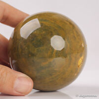 450g 69mm Natural Ocean Jasper Quartz Crystal Sphere Healing Ball Chakra Decor