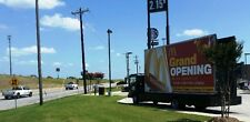 Mobile Advertising Truck, 20'x10' Billboard Truck Isuzu NQR  Diesel Engine 2011