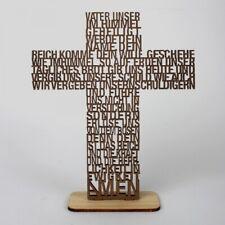 """Text-Kreuz """"Vater unser"""" - 3D Aufsteller (*NEU*)(*OVP*)"""