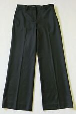 Women's J.Crew Favorite Fit Black Wool Casual Business Dress Pants sz 4 * S * M