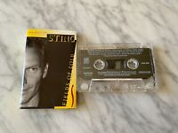 Sting The Best Of CASSETTE Tape 1994 A&M CS 0269 The Police, Fields Of Gold RARE