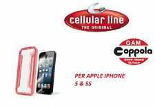 PELLICOLA PROTETTIVA PER IPHONE 5 & 5S CELLULARLINE CON APPLICATORE EASY