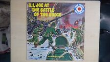 UA True Action Adventure Series Record G.I. JOE AT THE BATTLE OF THE BULGE LP