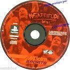 PlayStation 1 WF ATTITUDE jeu video de catch SONY psx ps1 ps2 ps one testé ok