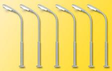 Viessmann 64906 Street Lamps 5+1, LED White Height: 54 mm, N