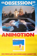 Animotion/Obsession/ Collectible Music Art Lithograph